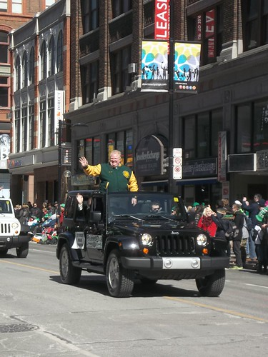 Rob Ford in the St. Patrick's Day Parade (2)
