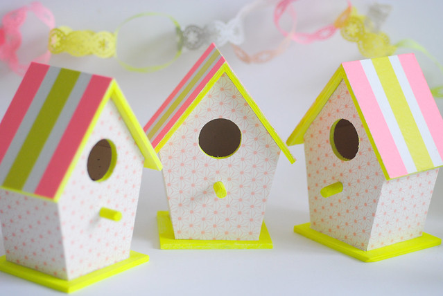 Easter bird houses