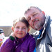 Emma and dad by Jesper Hauge