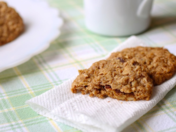 Whole Grain oatmeal cookies (rice free)