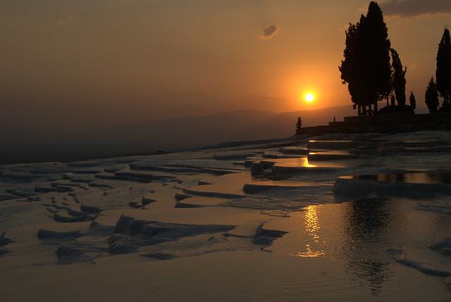 Sunset Pamukkale
