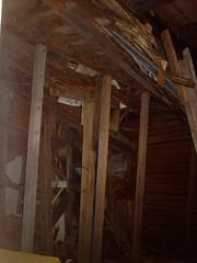 Abandoned wooden villa in Kruunuvuori