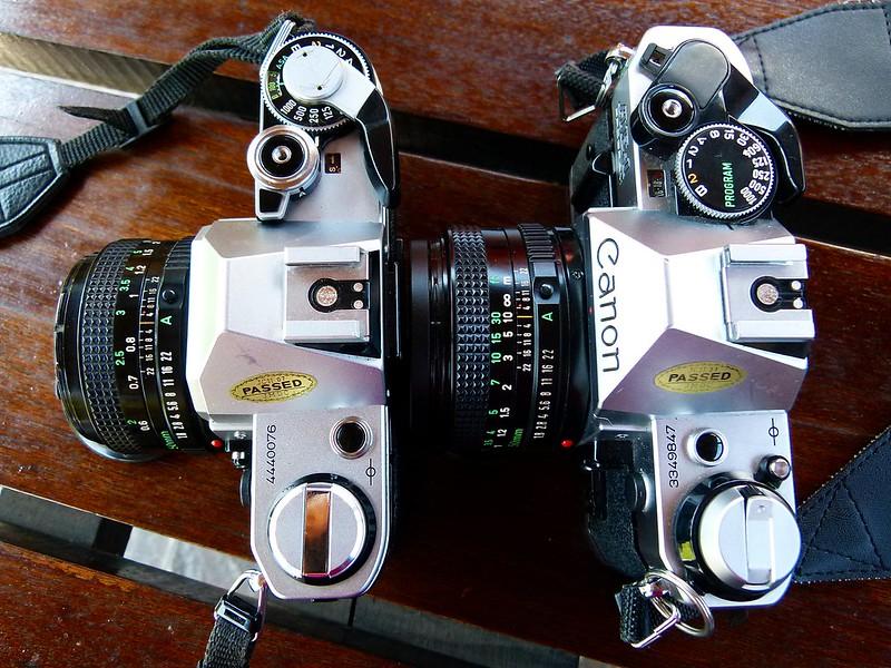 Canon AE-1 / Canon AE-1 Program