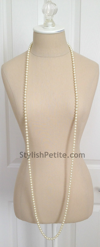 "How to wear a 60"" Pearl Necklace 21 ways1"