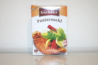 09 - Zutat Paniermehl / Ingredient breadcrumbs