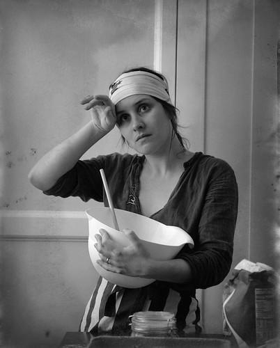 Juliet cooking old TMX 4x5