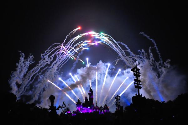 Hong Kong Trip Day 2: Disneyland Fireworks