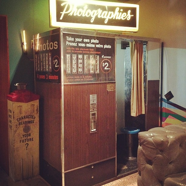 #Photobooth at the lobby of @thedrakehotel. #irony #hipster