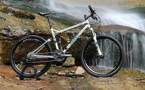 SISU BAREBACK Custom Steel MTB Full Suspension 26""
