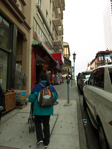 Walking Through Chinatown in search of dinner