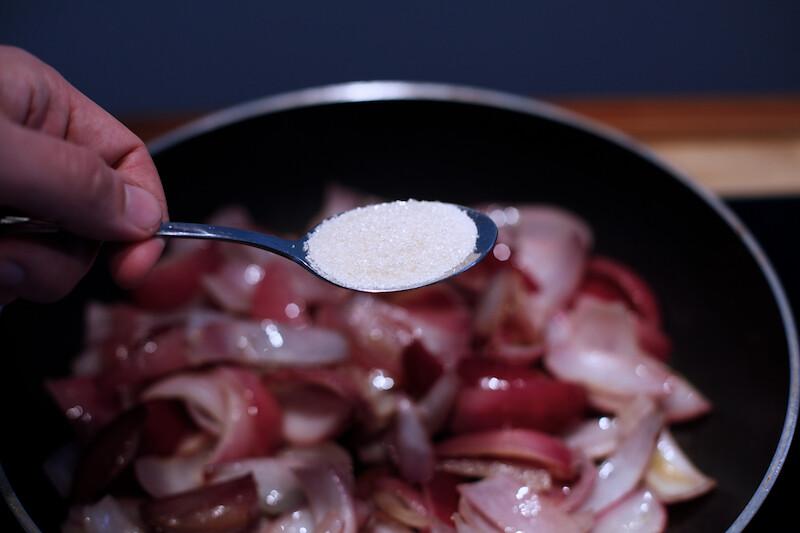 Pasta mit Zwiebelconfit (12)