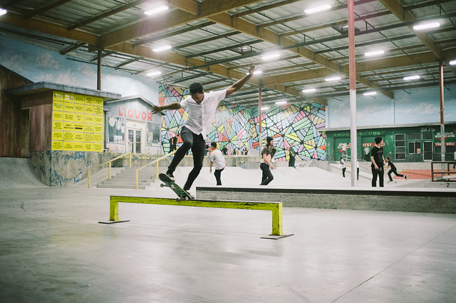 Emerica Reynolds Wear Test @ The Berrics