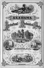 1871 Catalog for Agricultural and Mechanical College of Alabama