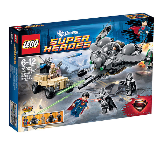 LEGO Super Heroes 76003 - Superman Battle of Smallville - BoxArt