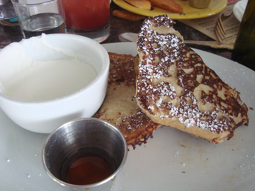 Banana French Toast at Sunny Spot