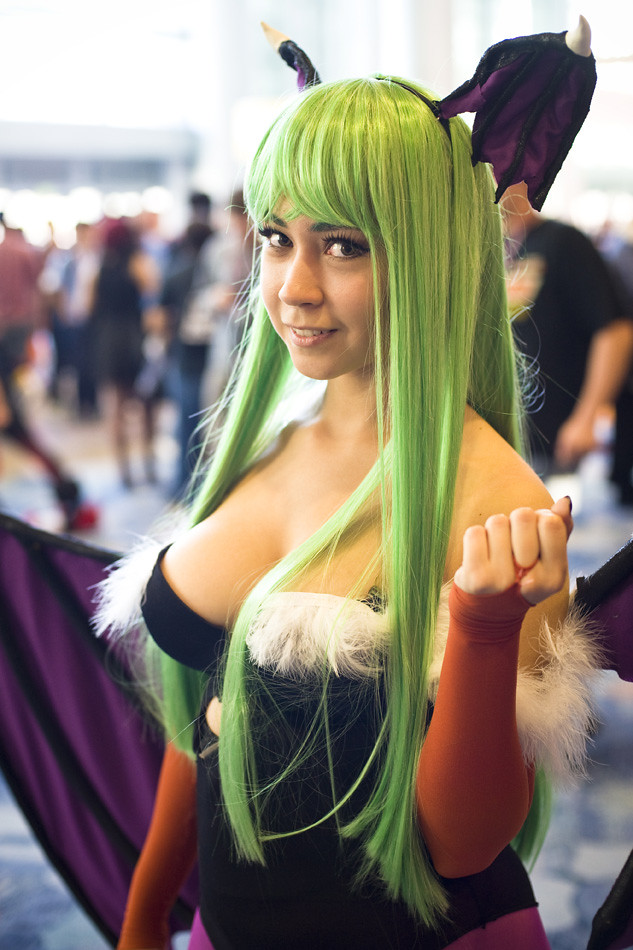 Wondercon 2013 – Morrigan Aensland