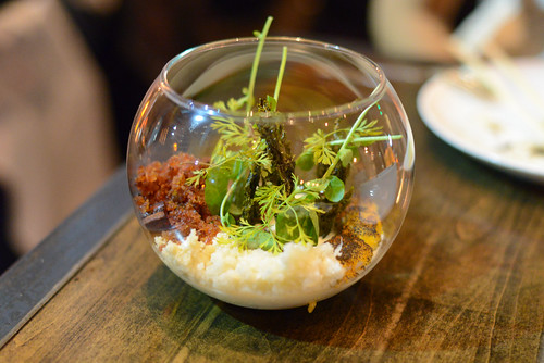 SANTA BARBARA UNI cauliflower, chinese sausage