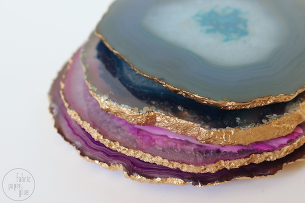 Semi-DIY Agate Coasters 6