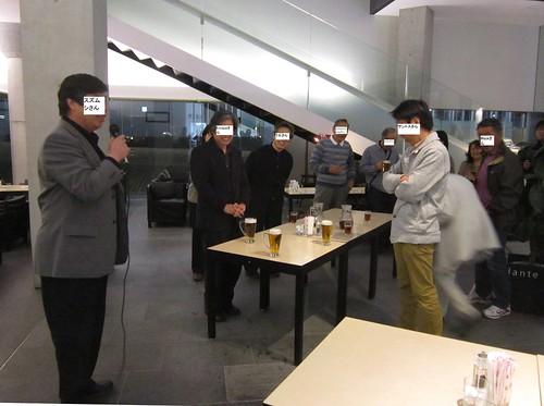 スズムシさんの乾杯の挨拶 2013年3月30日 by Poran111