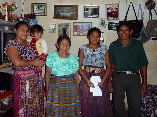 Paulina's family