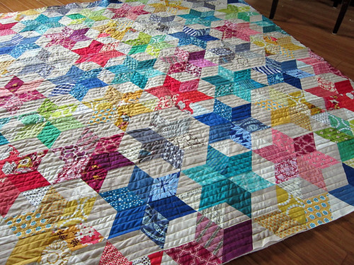 Starbright Quilted with Juki!