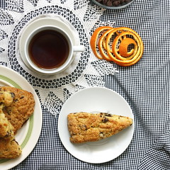 Orange-Chocolate Chip Scones