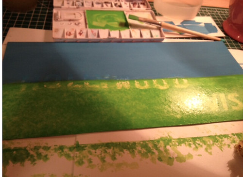 Painting Grass