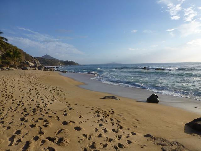 Beach at Playa Escondida