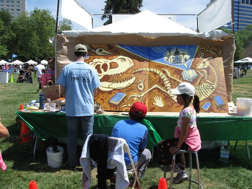 SJ Childrens Faire 2013 - Live Mural
