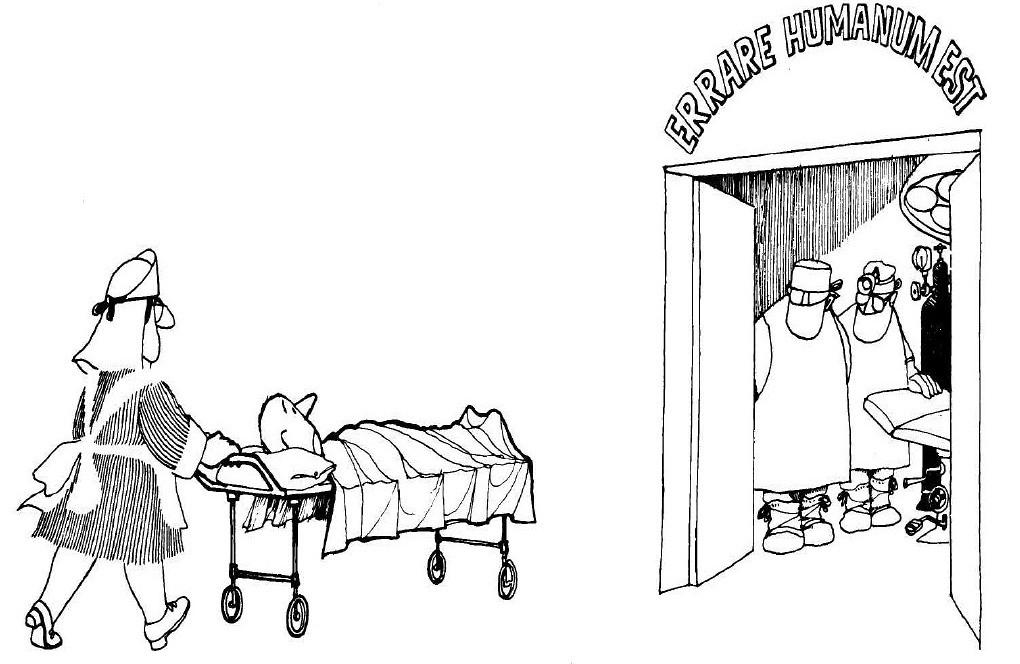 ERRARE HUMANUM EST, por Quino