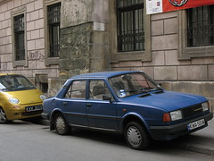 Skoda 120 (or 105?) in Krakow
