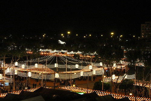 2013.04.15.024 - SEVILLA - Calle Padre Damián · Av Flota de Indias - (Feria de Abril 2013 - 'Alumbrao')