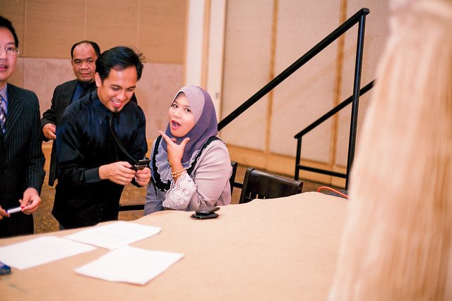 Fatin + Idraki // The Reception