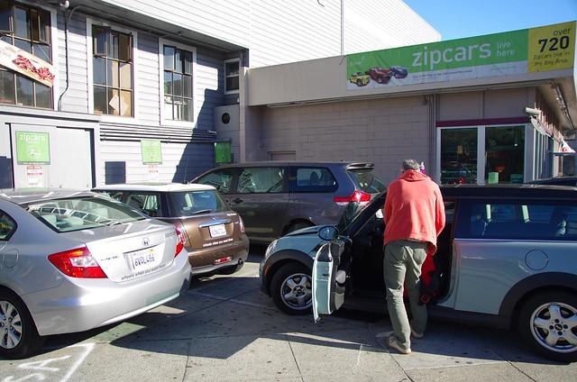 ZipCar - Bay Area San Francisco