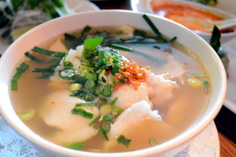 Ba's Chicken and Fish Soup