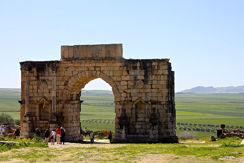 Roman ruins of Volubilis, Morocco
