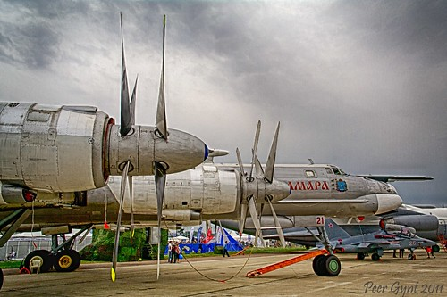 Tupolev Tu-95 Strategic Bomber.