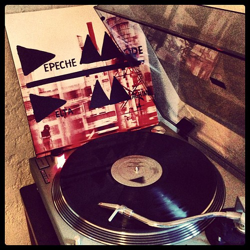 #depechemode #vinyligclub #deltamachine #clubrpm #photographicplaylist #nowspinning by Big Gay Dragon