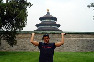 En el muro exterior, sosteniendo el  Templo del Cielo de Pekín, perfección entre tierra y cosmos - 8664936695 e299ee523d n - Templo del Cielo de Pekín, perfección entre tierra y cosmos