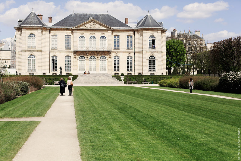 At Musée Rodin in Paris