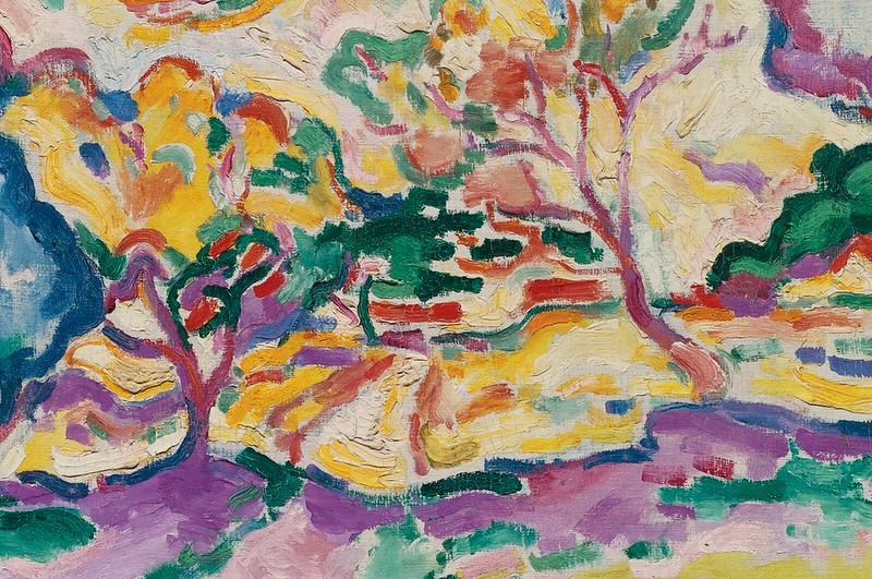 [ B ] Georges Braque - Passage à la Ciotat (1907) - Detail