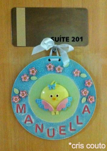 Enfeite da porta da maternidade by cris couto 73