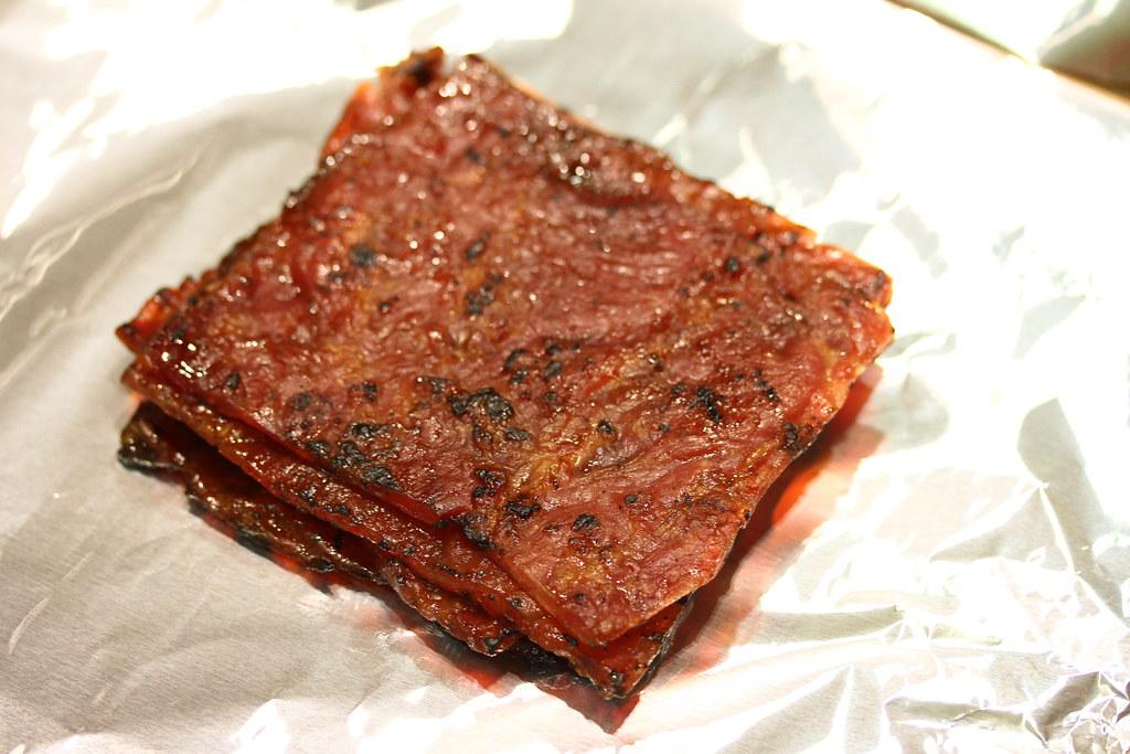 The Ultimate Bak Kwa Taste Test: Bee Cheng Hiang (sliced pork)