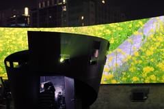 高階投影機與鮮明影像。圖片取自台達電