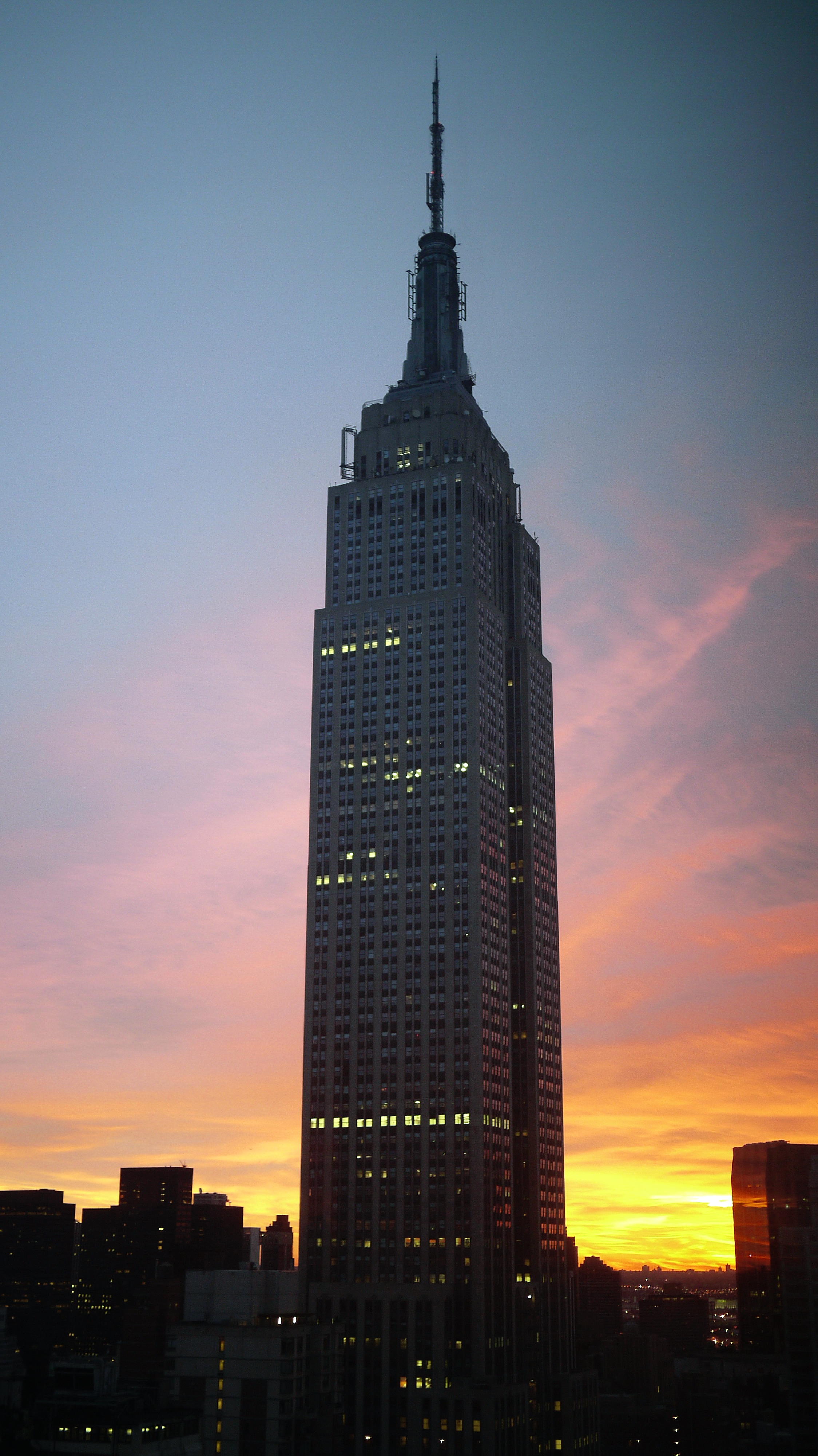Early sunrise before #walkingtoworktoday