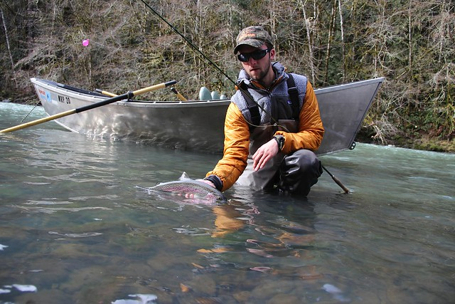 Early season fishing heating up special guide rates for Fishing eugene oregon