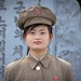 Woman soldier in Pyongyang, North Korea by Benoit Cappronnier