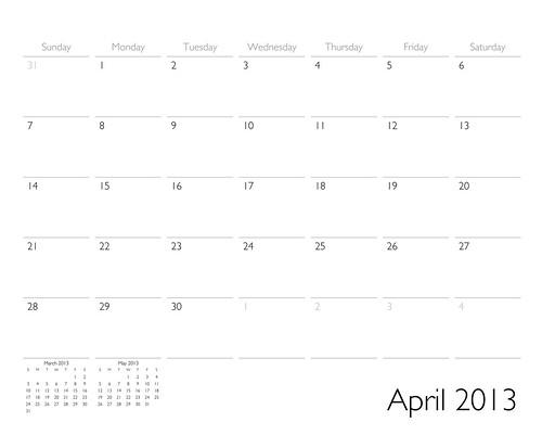 ADIDAP 2013 Calendar - classic - UK