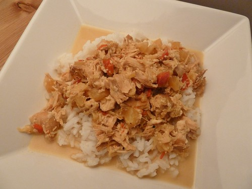 CrockPot Pineapple Coconut Chicken