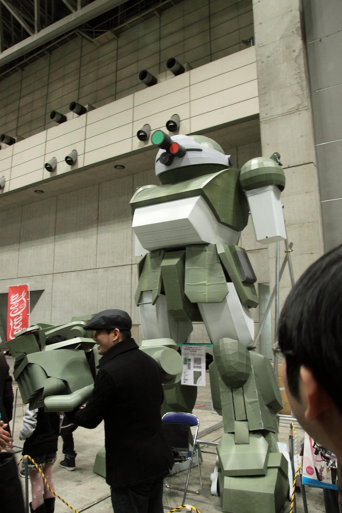 大日本技研 スコープドッグペーパークラフト01